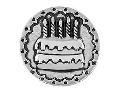 BUY 4, GET 5TH $6.95 SNAP FREE GINGER SNAPS™ BIRTHDAY CAKE Jewelry
