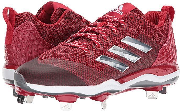 Adidas uomini potere vicolo 5 basso di metallo rossa scarpe da baseball noi dimensioni 8, 9 & 11,5 | Materiali Di Prima Scelta  | Scolaro/Signora Scarpa