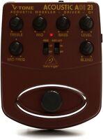 Behringer Adi21 V-tone Acoustic Driver Di Pedal on sale