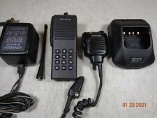 Kenwood Tk290 Tk 290 Vhf 136 174 160ch 5w Radio Dtmf Withchargerantennaspk Mic