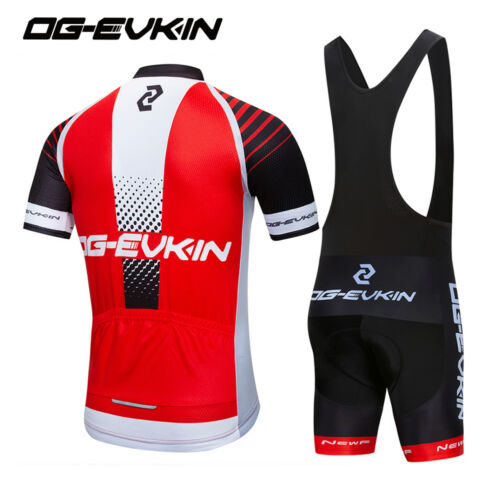 Cycling Clothing Men Short Sleeve Jersey Bib Shorts Set For Road Bike Bicycle