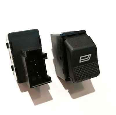 Blende Vorne LINKS SATZ GRAU VW POLO 6N2 LUPO 6X Fensterheber Schalter Knopf