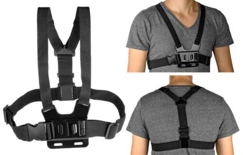 Mehrteiliges Set Fahrrad Brustgurt Kopfband f GoXtreme WiFi View
