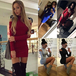 Fashion-Women-Short-Mini-Dress-Casual-Evening-Party-Cocktail-Bodycon-Dress