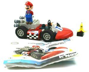 MARIOKART Wii Mario And Standard Kart Building Set KNEX 65pcs  Nintendo