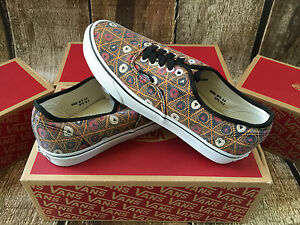 dc34e93fdd VANS AUTHENTIC VAN DOREN GRID TRIBE MENS SIZE 9 NEW SKATE SHOES