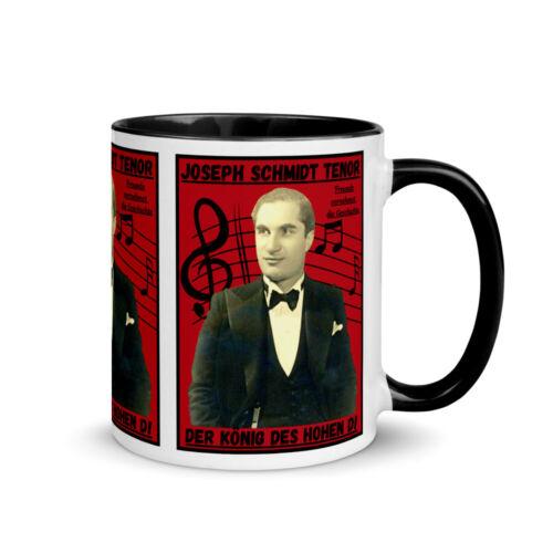 New Premium Mug 11 Oz Kaffee Tasse Joseph Schmidt Tenor DerKönig des hohen D!