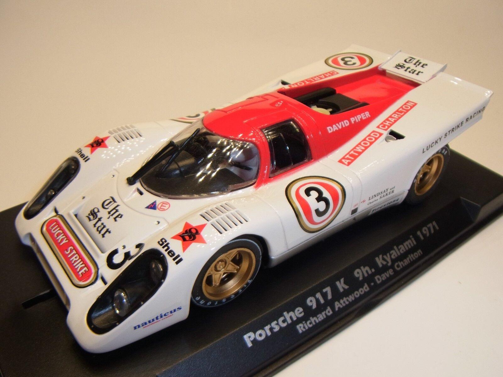 Fly Porsche 917K 9h Kyalami 1971 F005301 F. para Circuito de Slot 1  3 2