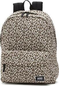 1748626990 Image is loading Vans-Realm-Backpack-Rucksack-Birch-Leopard-unisex-School-