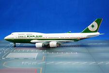 JXM147 Jet-X EVA Air Taiwan B 747 1:400 Scale Diecast Commercial Plane Model