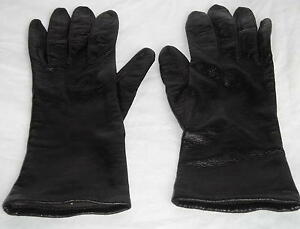 Luxuriously-Soft-Black-Leather-Driving-Gloves-Size-6-1-2-Ships-Free-in-the-USA