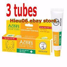 3 Tubes Mentholatum Acnes Scar Mark Spot Care Transparent Gel Acne Treatment
