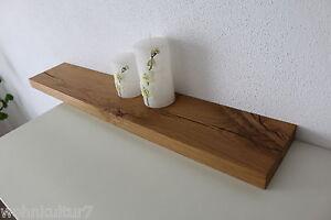 Wandboard Eiche Wild Rustikal Massiv Holz Board Regal Steckboard