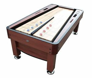 Image Is Loading 034 The Rebound 7 Foot Shuffleboard Table