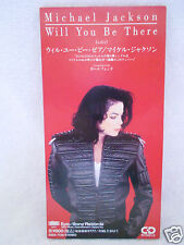 Michael Jackson Will You Be There 3' no Promo Japan ESDA 7139 RARE 1991