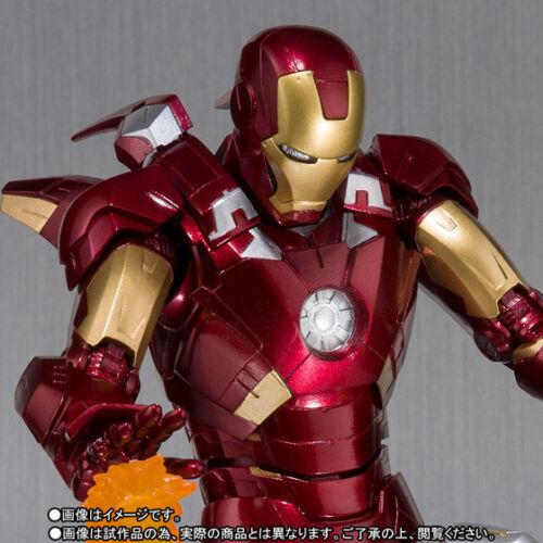 Bandai S.H.Figuarts Ironman Mk-7 And Hall Of Armor Set Marvel