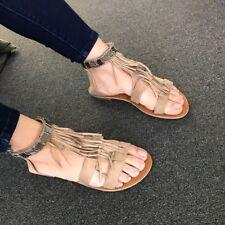 3f8b78c9cb3b bebe Girls Fringe Gladiator Sandal 5 6 Black for sale online