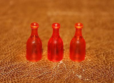 Playmobil western lot de 3 bouteilles rouges saloon 3787