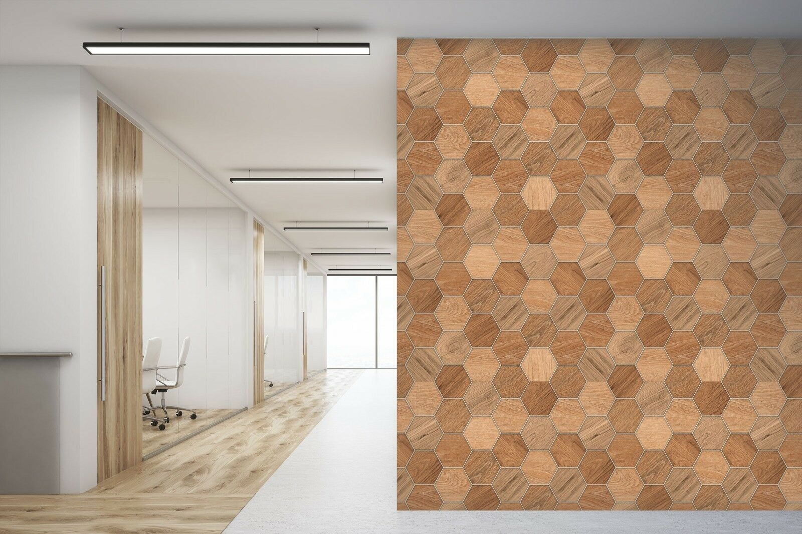 3D Hexagonal Board 876 Texture Tiles Marble Wall Paper Decal Wallpaper Mural