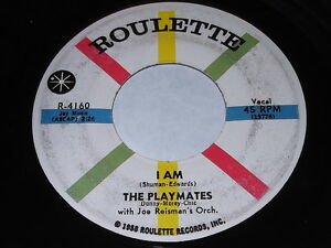 The-Playmates-with-Joe-Reisman-039-s-Orch-I-Am-What-Is-Love-45