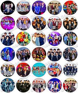 30 x BTS Music Fun Party Edible Rice Wafer Paper Cupcake ...