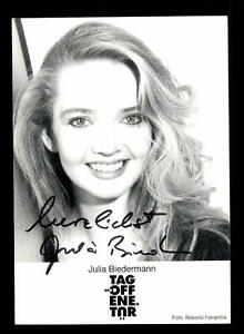 Julia-Biedermann-Autogrammkarte-Original-Signiert-BC-85078