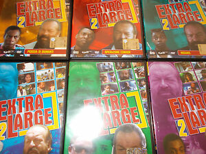 LOTTO 6 DVD BUD SPENCER EXTRALARGE 2 - EXTRA LARGE 2 SERIE COMPLETA - Italia - LOTTO 6 DVD BUD SPENCER EXTRALARGE 2 - EXTRA LARGE 2 SERIE COMPLETA - Italia