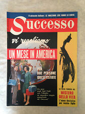 RIVISTA SUCCESSO 8/1962 ANNA PROCLEMER DINO BUZZATI SUE LYON SHIRLEY MACLAINE