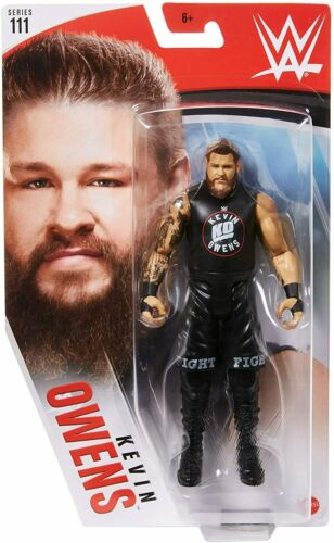 Mattel WWE Basic Series #111 Wrestlingfigur - Kevin Owens 15cm Actionfigur