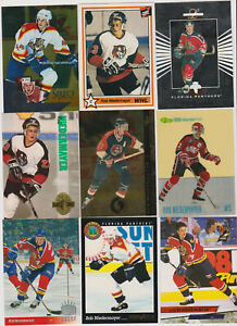 100-card-Rob-Niedermayer-mixed-lot-Mostly-rookies-Florida-Panthers-star