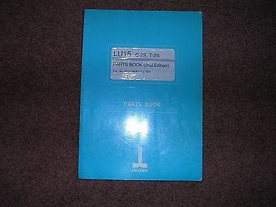 C-2s T-2s Parts Book Business & Industrial Okuma Cnc Lu15