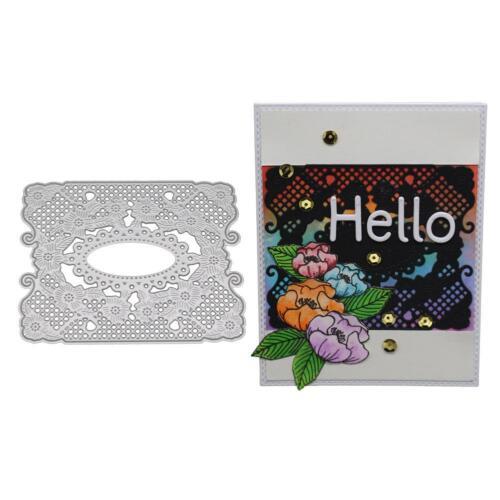 Metal Cutting Dies Stencil Scrapbooking Card Paper Embossing Craft Album Decor