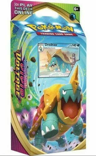 DREDNAW Theme Deck OFFICIAL Pokemon Cards SWSH Vivid Voltage SEALED Box