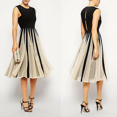Frauen Chiffon Maxikleid Kleid Partykleid spleiß Cocktailkleid lang Dress Hot
