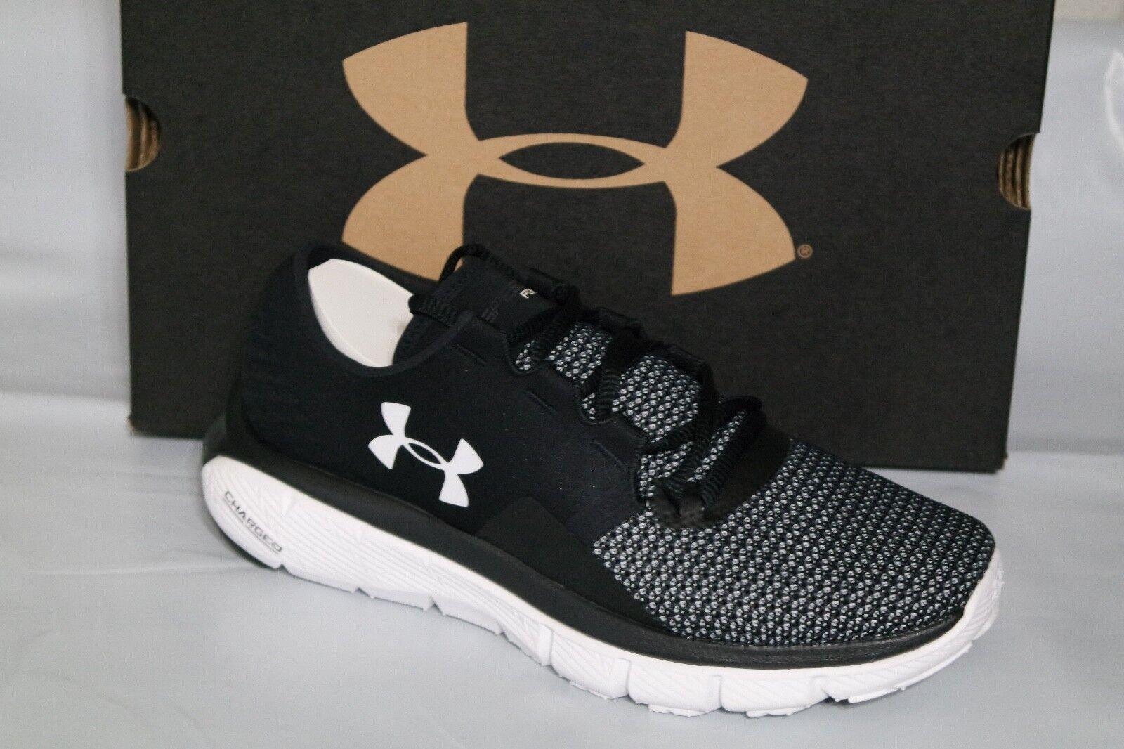 UNDER ARMOUR UA SpeedForm FORTIS 2 Damenschuhe RUNNING Schuhe, BLACK/WEISS 1273954-001