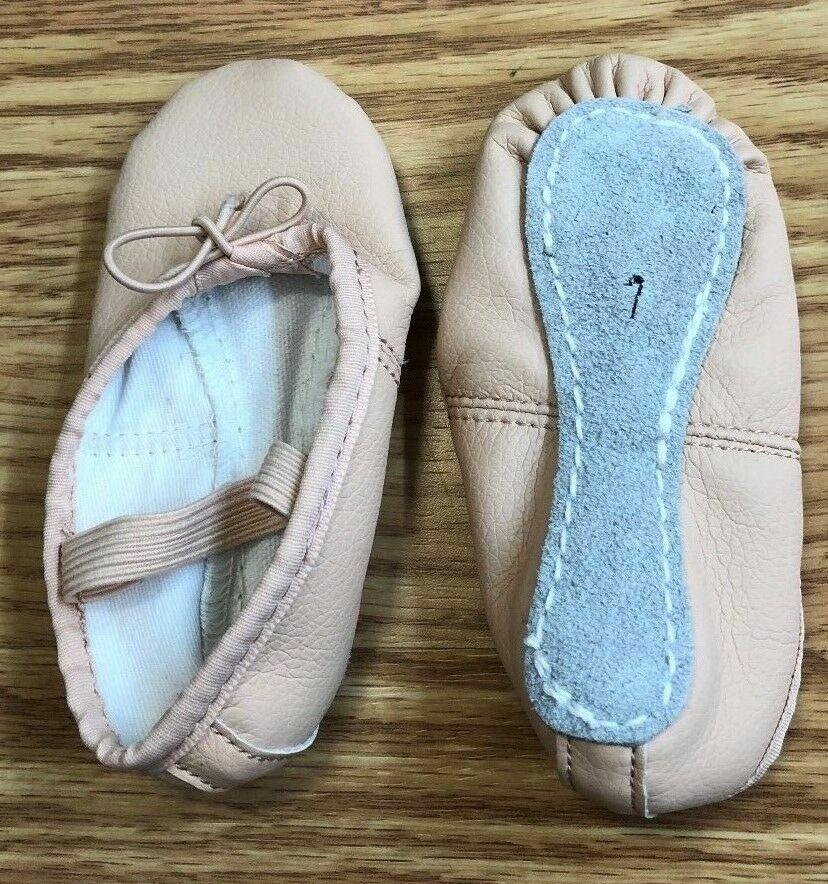 Ballet Shoes Closeout Pink Leather Full Sole Teknik Grace Capezio LOTS OF SIZES