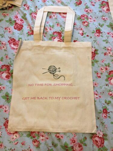 CRAZY SALE KNITTNG//CROCHET ECO SHOPPING BAGS GRAB A BARGAIN!!