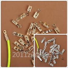 12mm x 5mm 200 Antique Copper Tone Cord Ends FD438