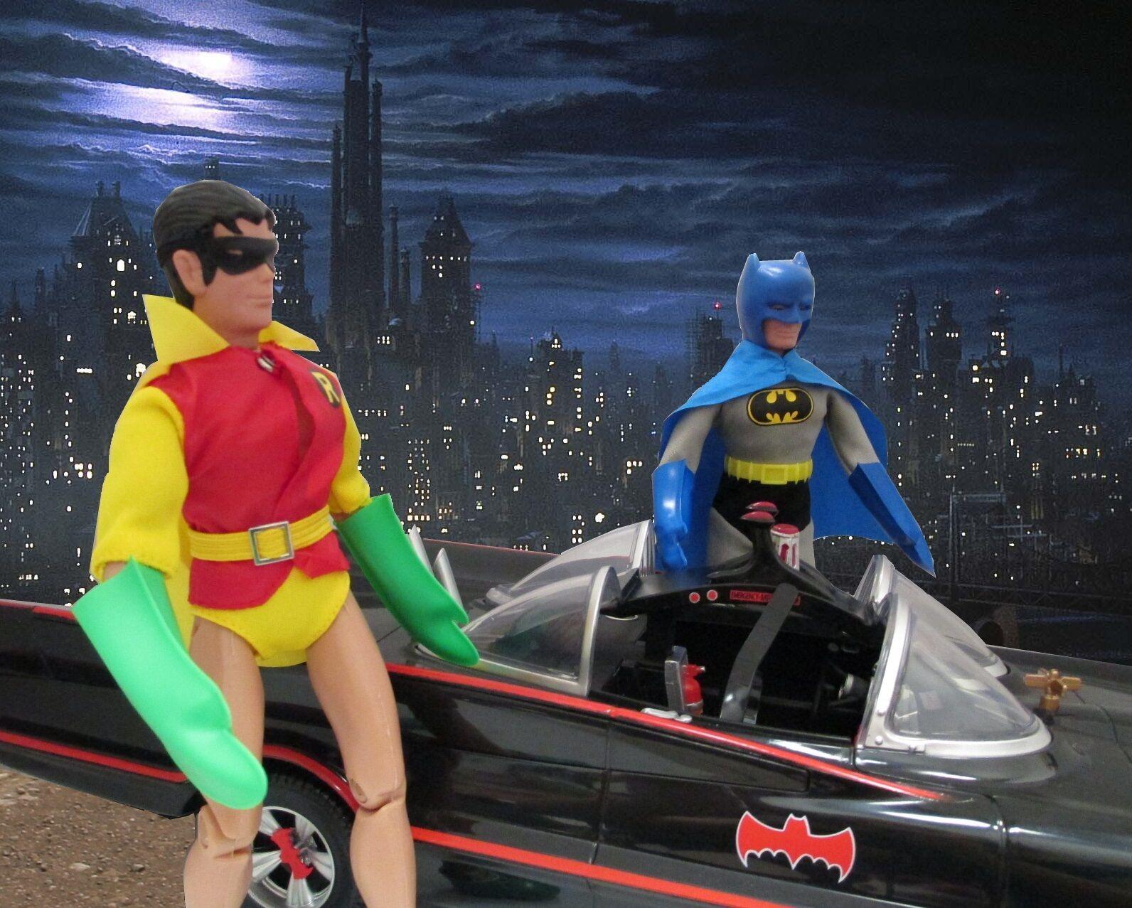 Batman und robin varianten 8-in retro - mego smaragdstadt exklusive kresge