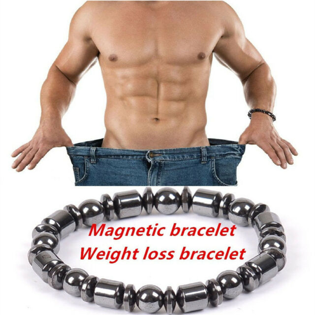 New Mens Magnetic Therapy Bracelet Hemae Healthy Women S Fitness Bangle Black