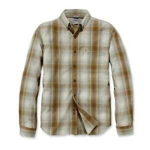 Carhartt-Herren-Hemd-kariert-Essential-Plaid-Shirt-Long-Sleeve