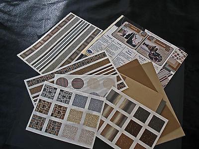 CREATIVE MEMORIES NEUTRAL SNAP PACK ALBUM KIT STICKERS Paper NIP