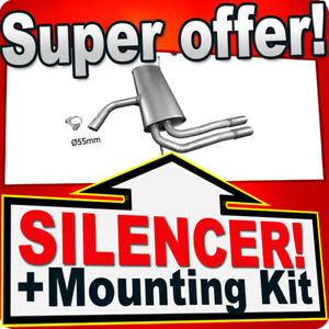 Silencer Exhaust System for SEAT ALTEA XL 1.6TDi and 1.9TDi