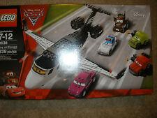 L@@K~RETIRED~NEW~LEGO COLLECTIBLE CARS LOT 8638 DISNEY PIXAR SPY JET ESCAPE