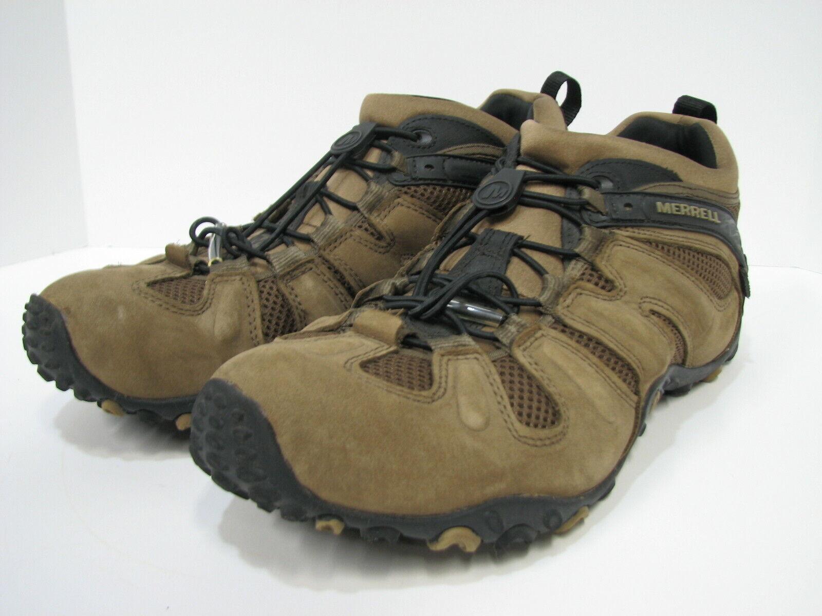 154b3f71a950a Merrell J21401 Mens Hiking shoes Size 13 Chameleon Prime Stretch Kangaroo  Watprf