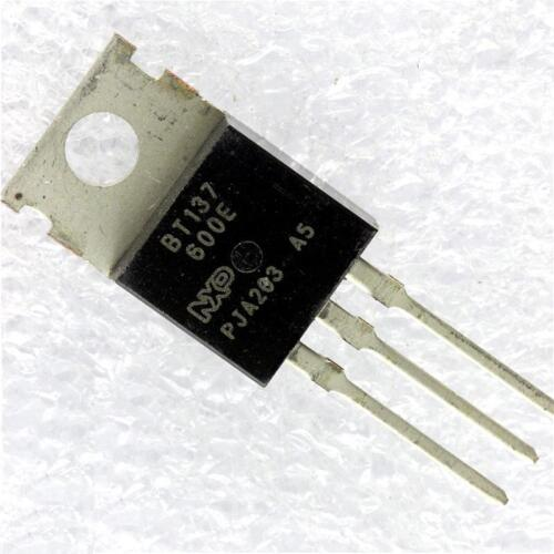 5PCS BT137-600 BT137-600E BT137 TO-220 600V 8A Triacs NEW