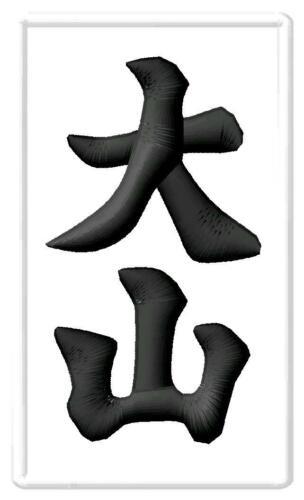 Oyama Karate kanji White IRON ON PATCH Aufnäher Parche brodé patche toppa