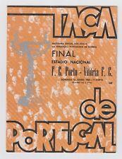 Orig.PRG   Portugal Cup  1967/68  FINALE   FC PORTO - VITORIA SETUBAL  !!  TOP