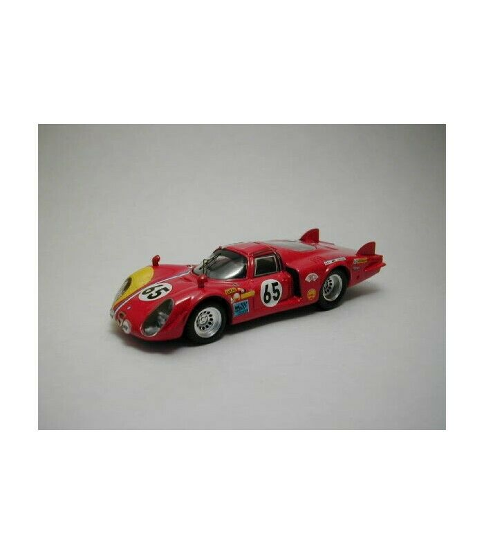 ALFA ROMEO 33 2 COUPE N.65 ENTRY NOT ACCEPTED LM 1968 D UDY-DIBLEY 1 43