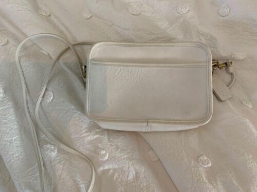 Vintage Coach Carnival Bag - White
